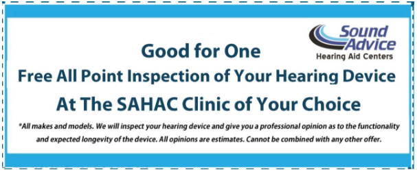 Free Hearing Aid Inspection in Maryland or Delaware